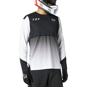 Fox Flexair LS Jersey Men, black/white
